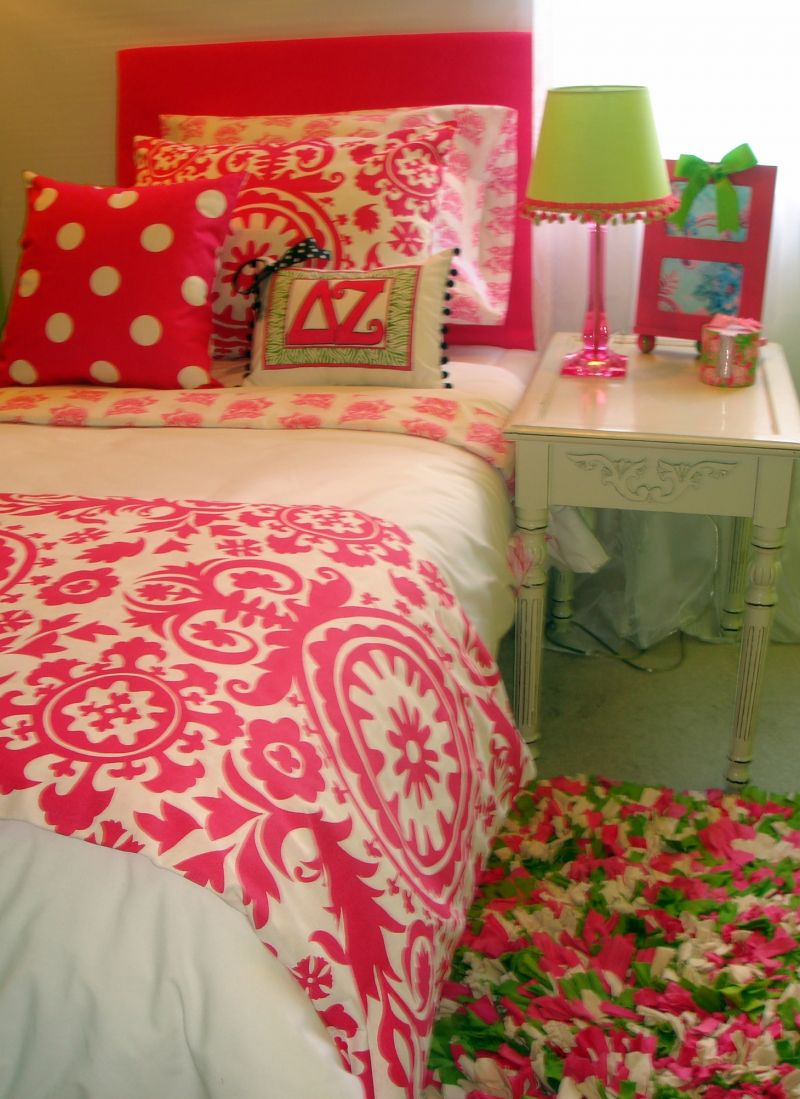 decor 2 ur door lets you match your bedding with your sorority