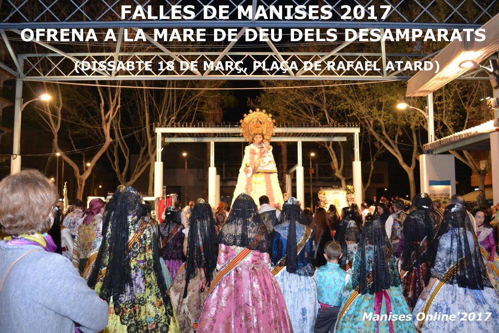 19.03.17 LES FALLES DE 2017: OFRENDA A LA VIRGEN Y FINAL DE LAS FIESTAS DE SAN JOSÉ