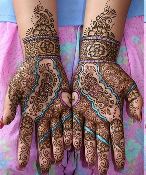 Mehndi Designs Colourful Bridal Mehndi Designs Images