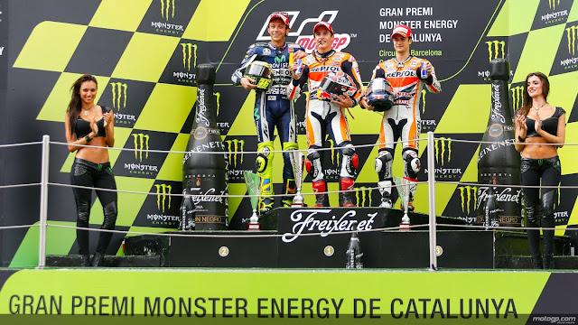 Kemenangan beruntun ketujuh Marq Marquez GP Catalunya Spanyol