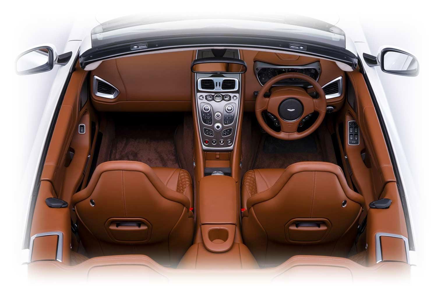 Aston Martin Vanquish Volante 2014