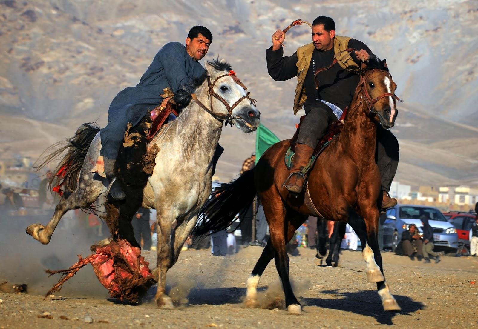 Afghanistan, National, Sports, Buzkashi, Game, Tradition, Herat, Horsemen, Horse, Animal, Carcass, Rider,