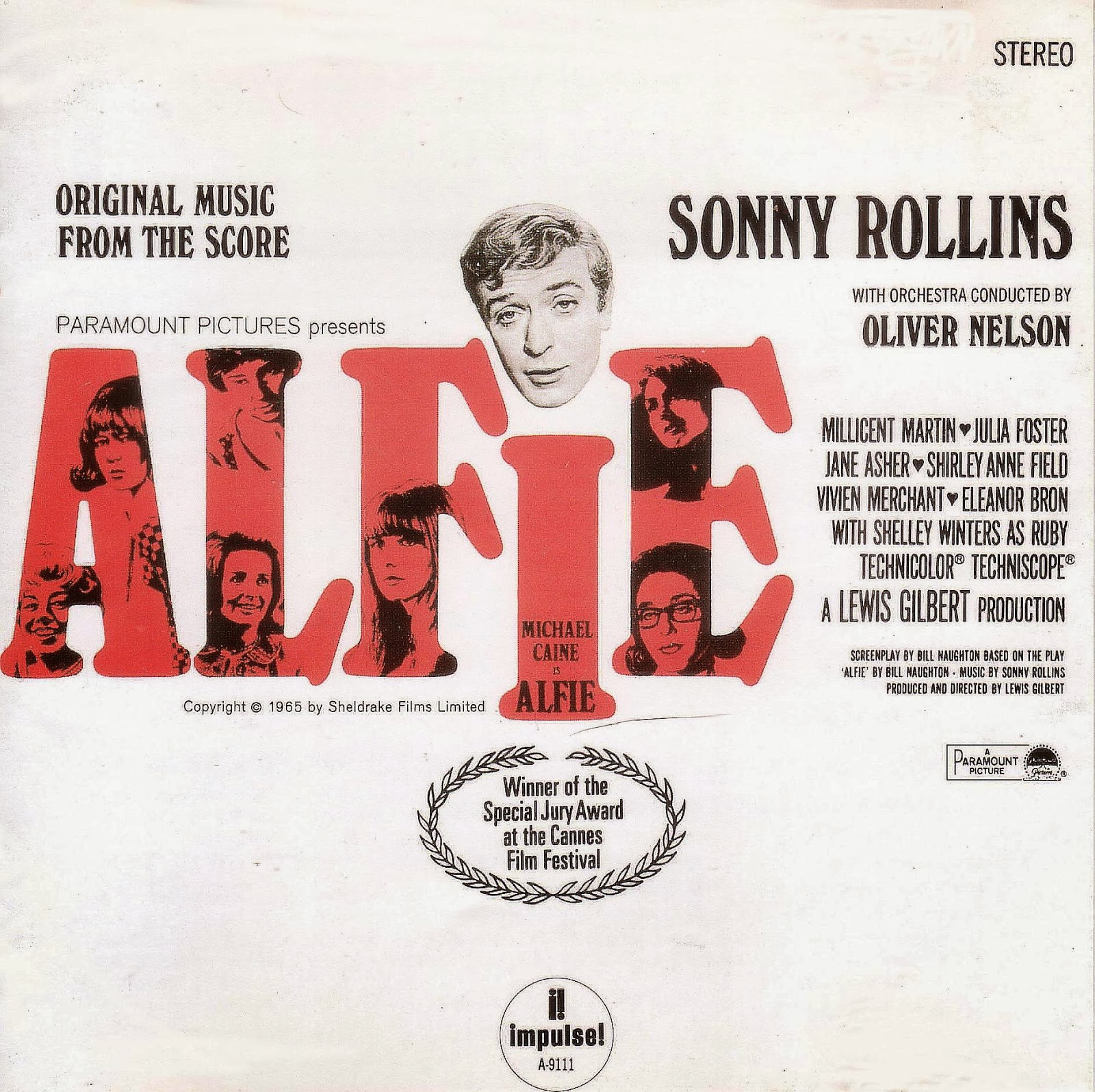 Music Of My Soul Sonny Rollins 1966 Alfie Impulse Mca