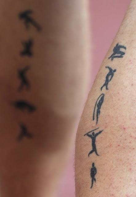 Tatuaje olímpico de deportes