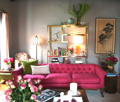 Jodie carter design pink for Belle maison interieur design