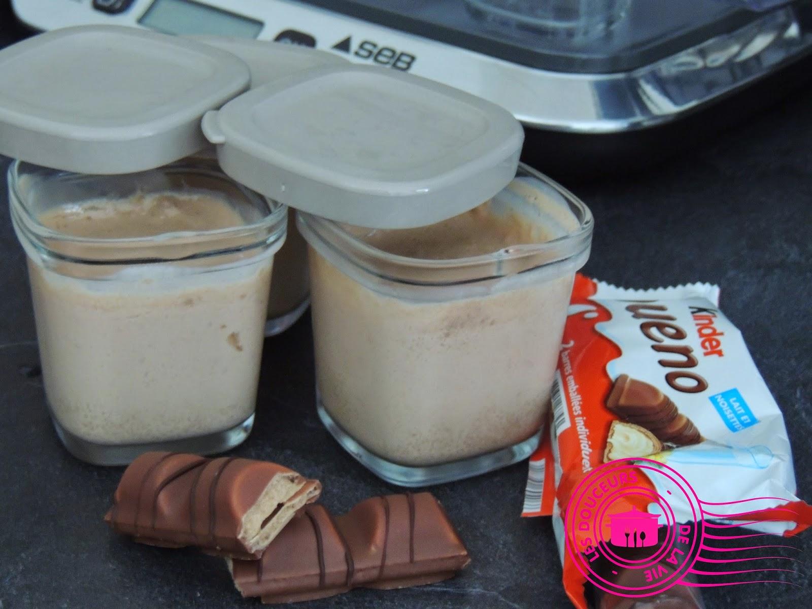 cr 232 me dessert danette au kinder bueno yaourti 232 re multi d 233 lices petit bec gourmand