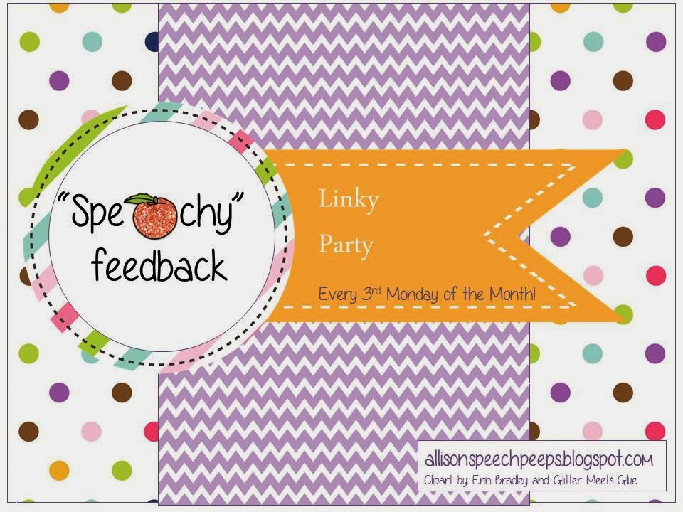 http://allisonspeechpeeps.blogspot.ca/2013/11/speachy-feedback-linky.html