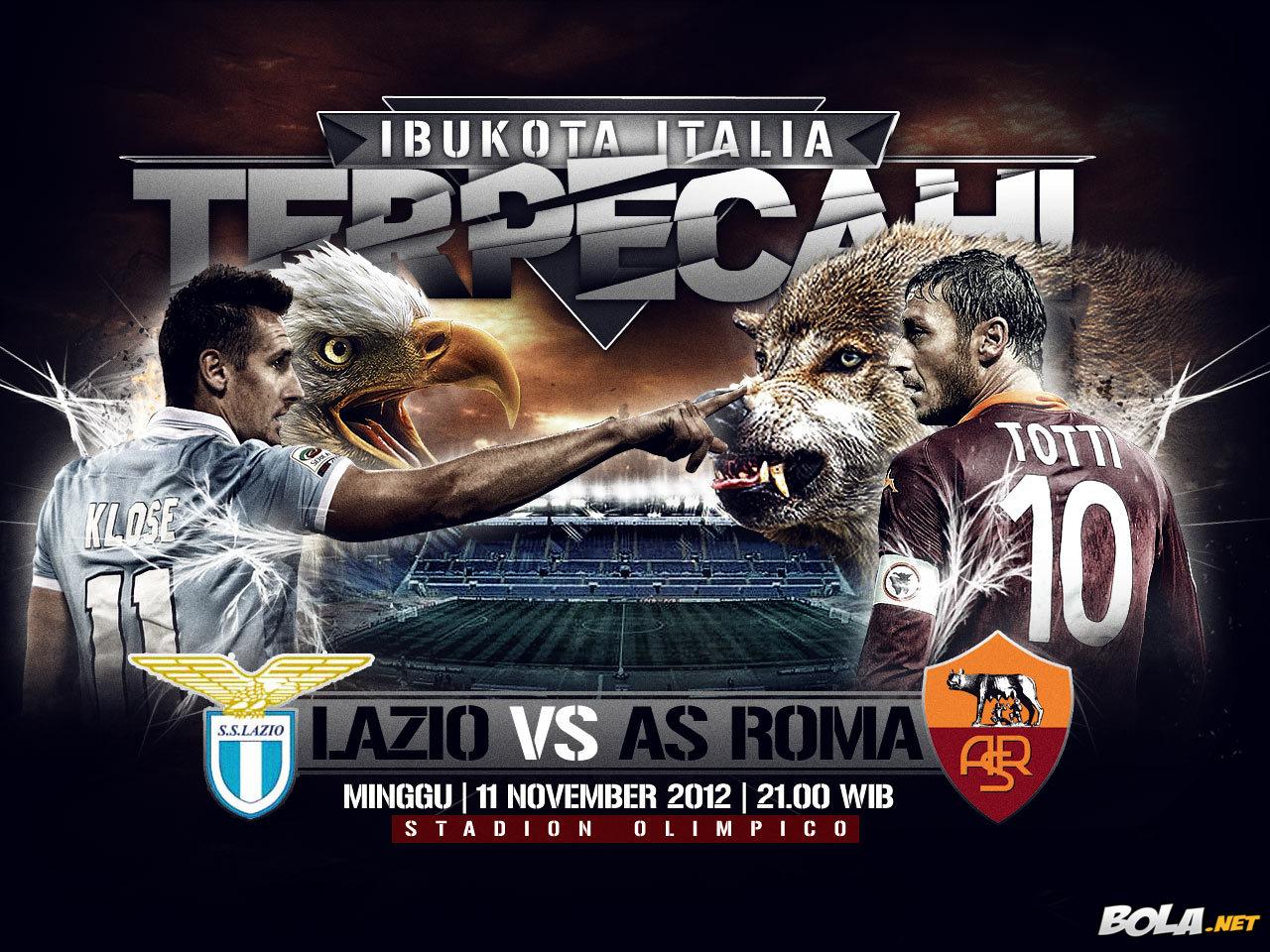 PREDIKSI LAZIO VS AS ROMA 11 NOPEMBER 2012