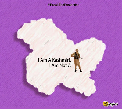 Kashmiri perception