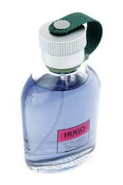 Perfume Bottles Hugo Boss blue