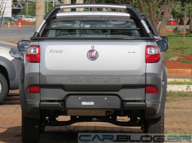 Fiat Strada Adventure 2013 Cabine Estendida