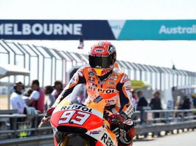 Marc Marquez Juarai GP Australia, Andrea Iannone Bintangnya