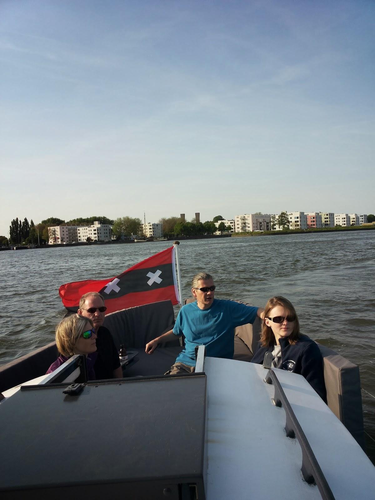 Amsterdam local boat tour