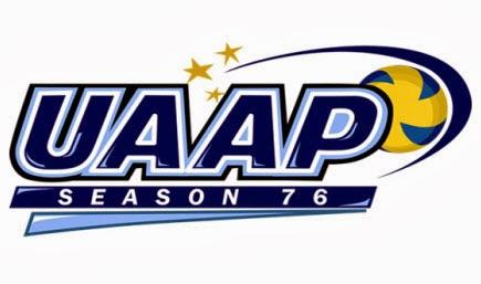 UAAP 76 Women's Volleyball
