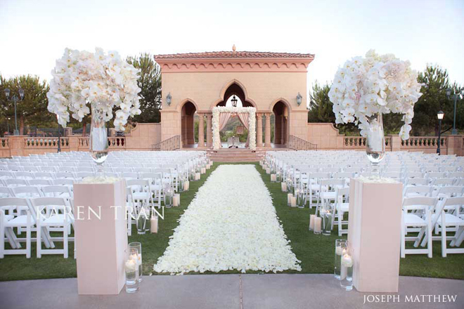 Wedding Ceremony Flower Ideas
