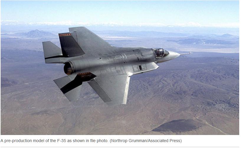 F- 35 Jet Update