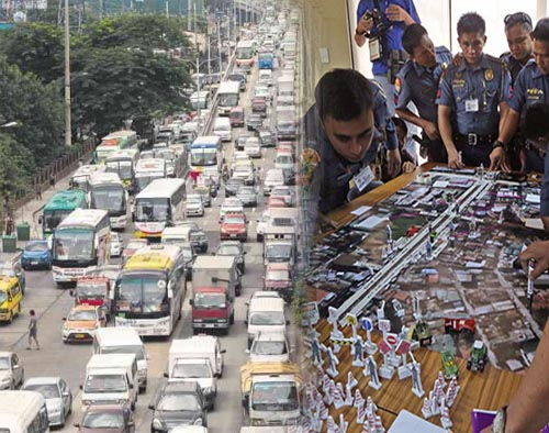 EDSA traffic PNP HPG