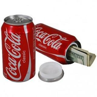 Envase para guerdar tu dinero