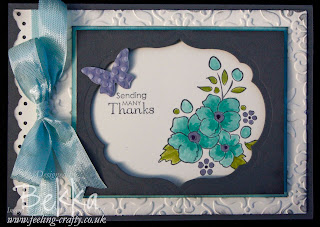 Bordering on Romance Framelit Window Card by Bekka www.feeling-crafty.co.uk