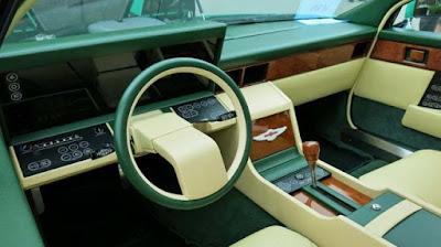 Το εσωτερικό της Aston Martin Lagonda