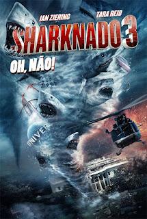 Sharknado 3: Oh, Não! - HDRip Dual Áudio