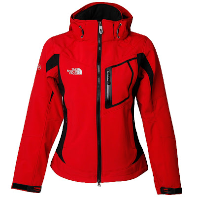 Womens North Face Redpoint Goretex Jackets Red
