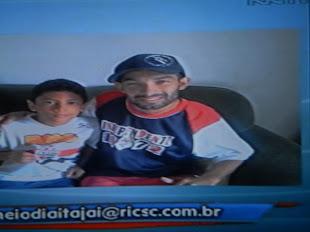 Minha foto na Tv Record