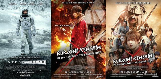 interstellar rurouni kenshin samurai x malaysia