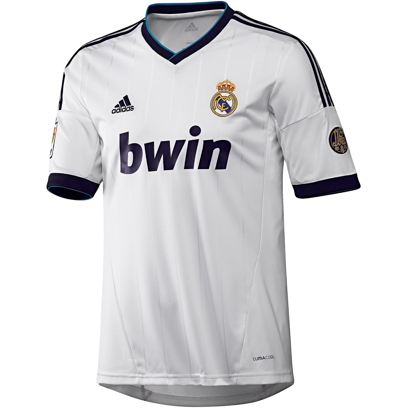 Real Madrid  Uniformes De F  Tbol 2012 2013