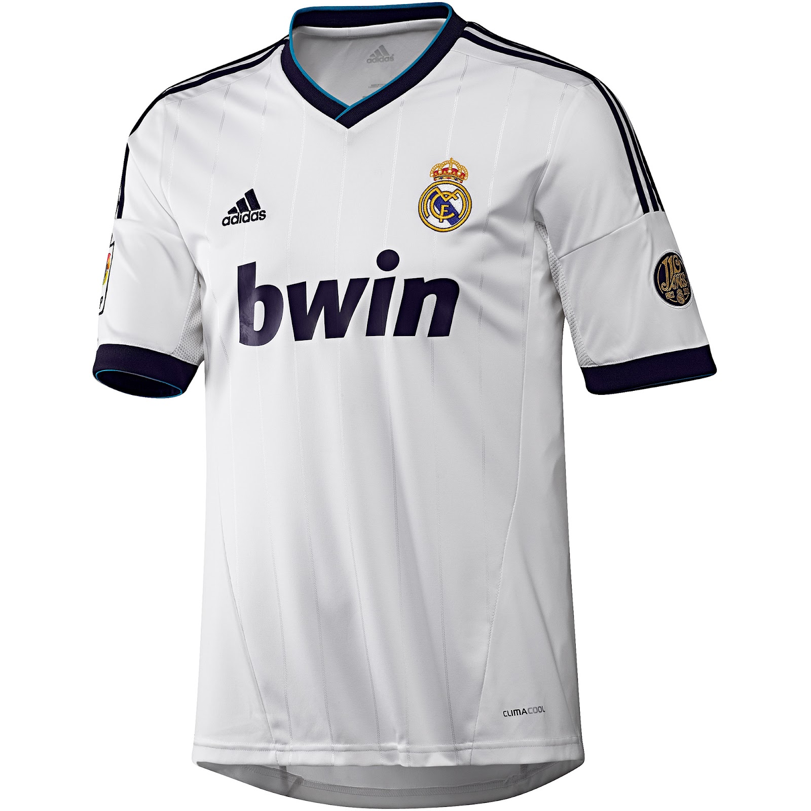 Real Madrid 2012 2013 Adidas Local   Home Kit Adidas Real Madrid 2012