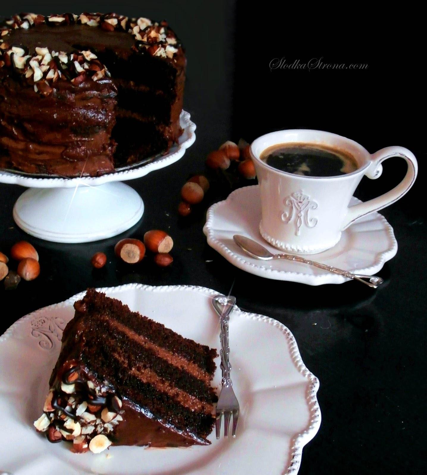tort czekoladowy z Nutella