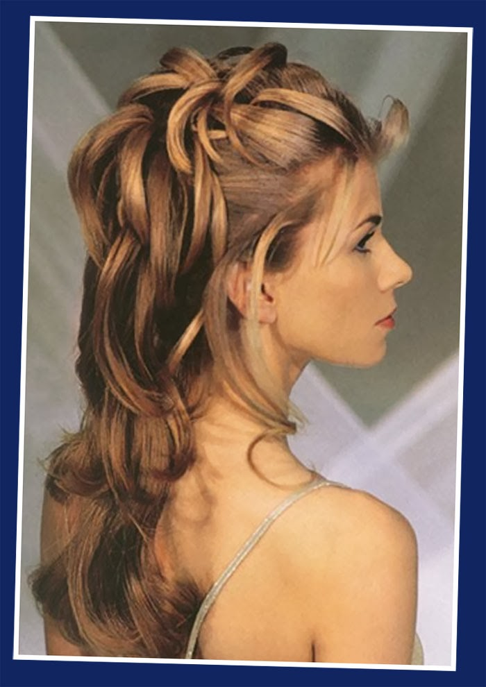 Half-up-half-down-wedding-updos-hairstyles-long-hair