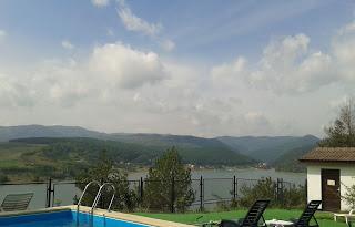 Motel Cincis:vedere de la piscina