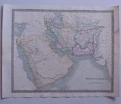 نقشه مستقل بلوچستان در سال 1831 م