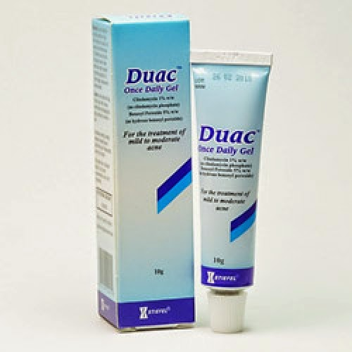 What is duac gel used for