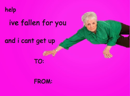 HAWT TALK WITH TOSAN Funny Valentines day card memes