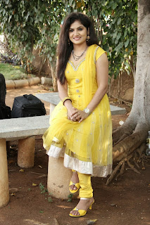 Actress Noor Jahan Picture Gallery in Yellow Salwar Kameez at Gautham Nilima Movie Opening  0063.jpg
