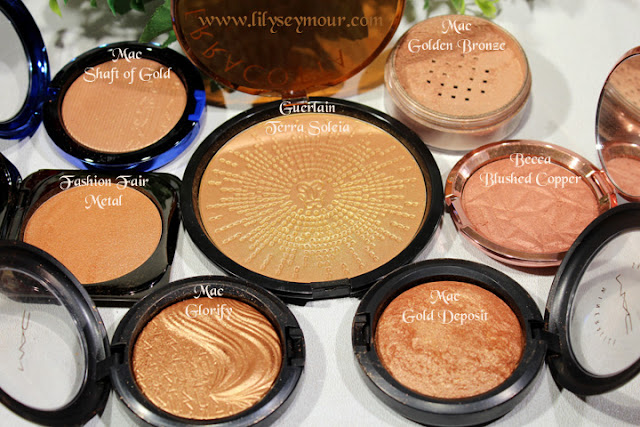 Bronze Coppery Highlighters for Women of Color