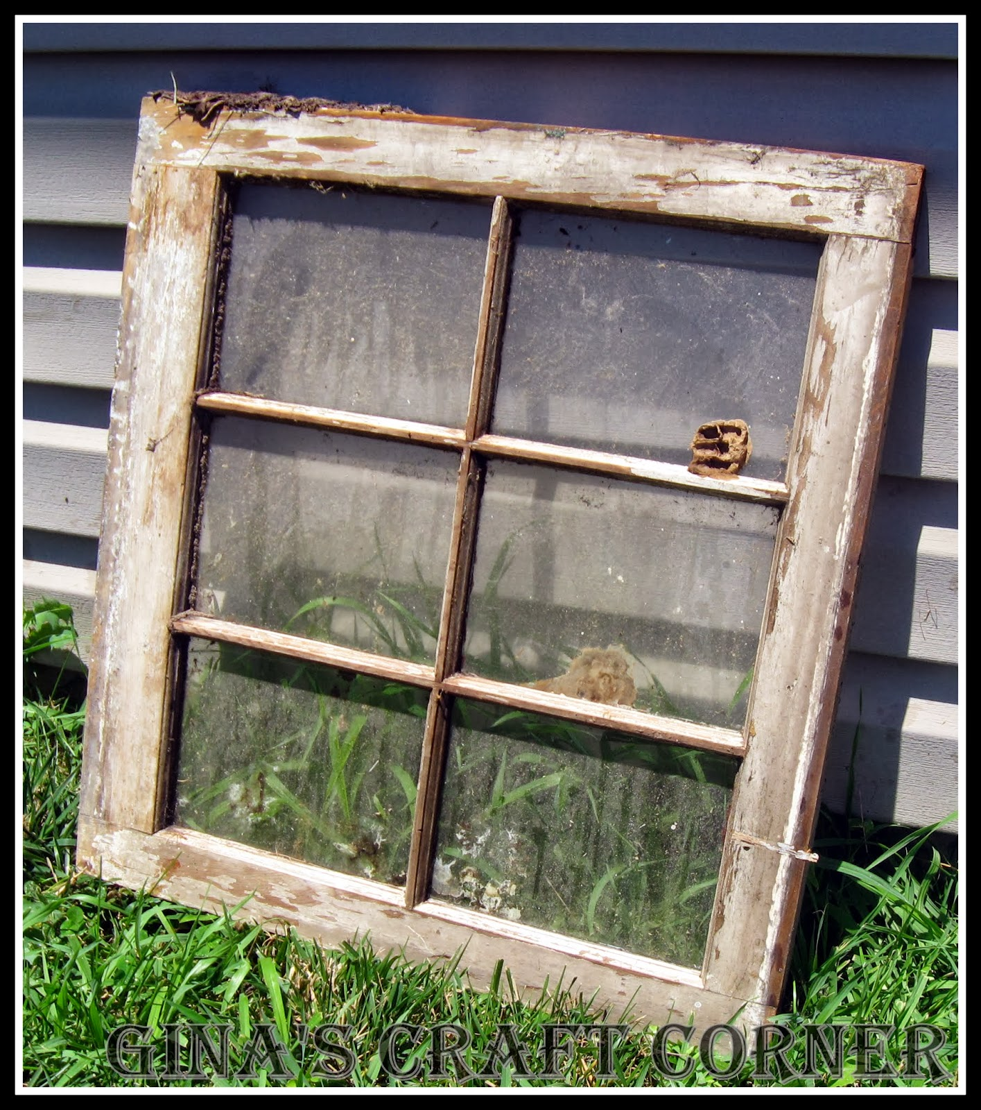 gina 39 s craft corner repurposed window frame for fall
