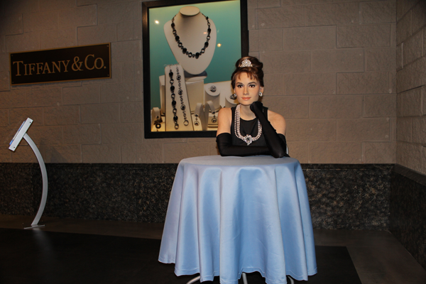 Audrey-Hepburn-Wax-Museum-of-Myrtle-Beach