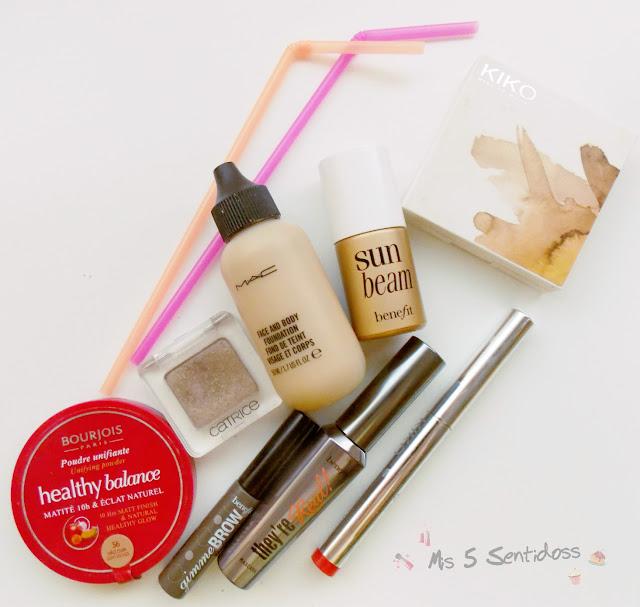 Mis productos de maquillaje favoritos para verano 2015