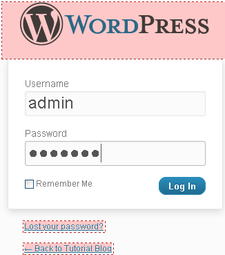 Gambar 11Log In Administrator CMS Wordpress