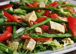 Weight Loss Recipes : Asparagus Almond Chicken Salad