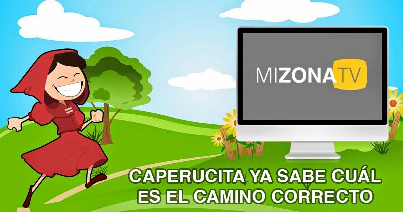 Caperucita va a Mi Zona TV