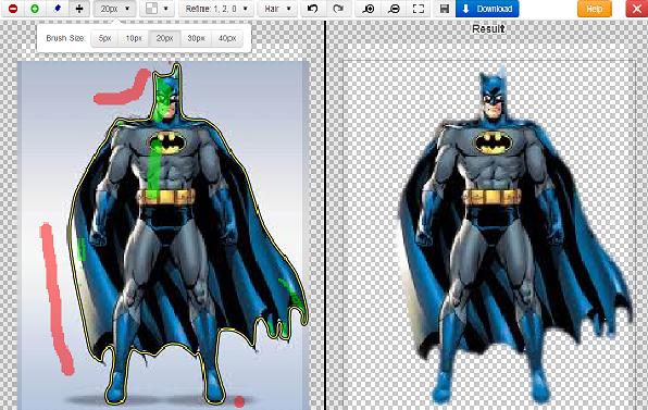 طريقة حذف الخلفية من الصور بدون برامج (أونلاين)