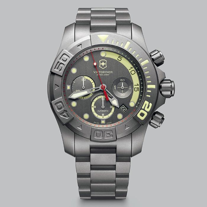 Victorinox Swiss Army Limited Edition Titanium Dive Master 500 on OEM titanium bracelet