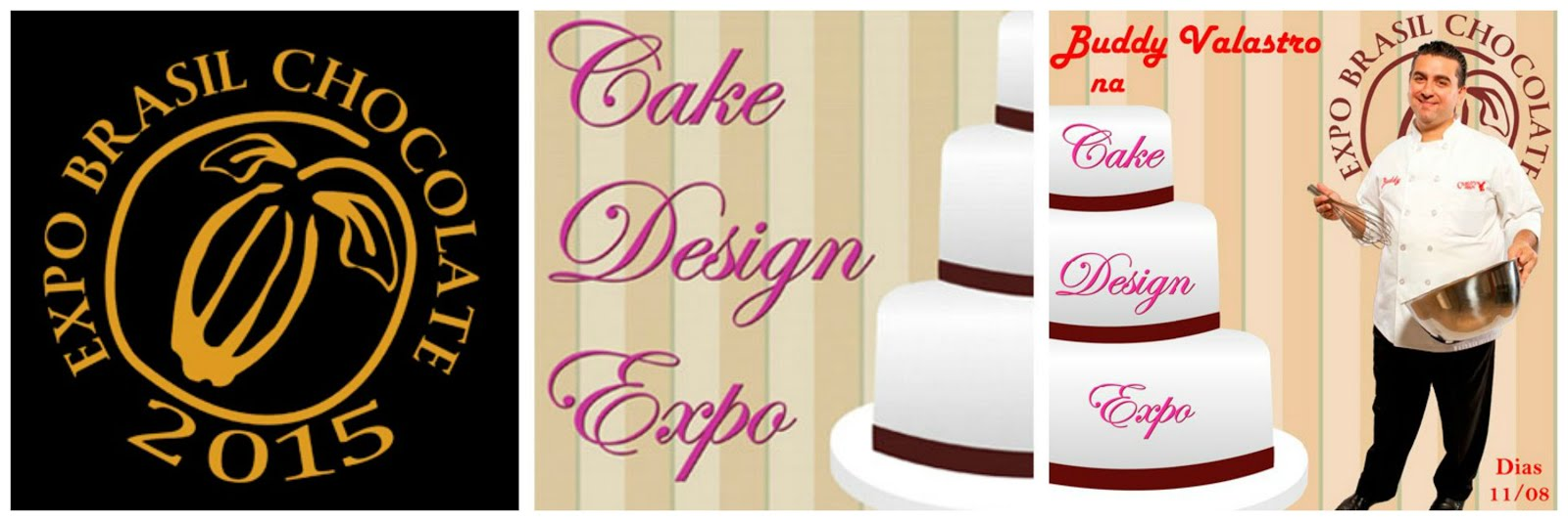 Expo Brasil Chocolate 2015 e Cake Design Expo