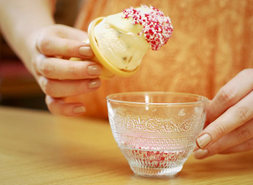 Lemon Meringue Ice Cream | Katiecakes
