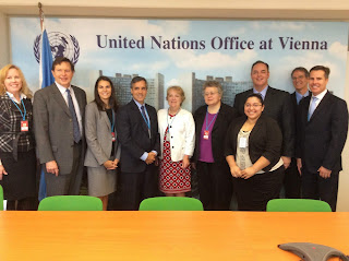 Cornejo worked with the U.S. delegation at the United Nations Office in Vienna.