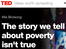 Just listened to: TED - The story we tell about poverty isn't true by Mia Birdsong